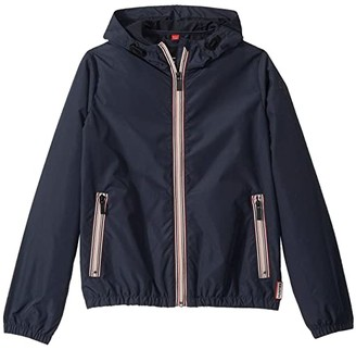 Hunter Original Shell Jacket (Big Kids) (Navy) Kid's Coat