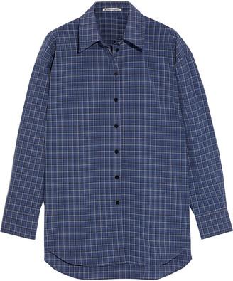 Acne Studios Oversized Checked Woven Shirt