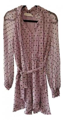 Zimmermann Purple Silk Jumpsuits