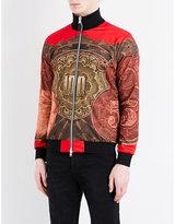 Givenchy Money-print Stretch Bomber Jacket