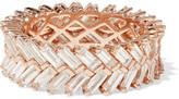 Anita Ko Zipper 18-karat Rose Gold Diamond Ring