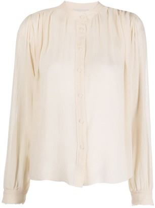 Forte Forte silk button-up blouse