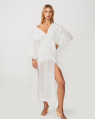 SUBOO Goldie Wrap Maxi Dress