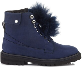 Jimmy Choo Shearling Lined Snow Boots