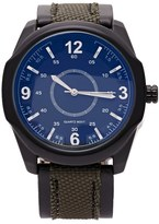Forever 21 FOREVER 21+ Men Canvas Analog Watch