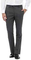Jeff Banks Grey Checked Trousers With Wool