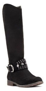 OLIVIA MILLER 'Last Kiss' Riding Boots Women's Shoes