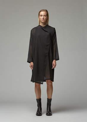 Ann Demeulemeester Long Sleeve Wrap Dress