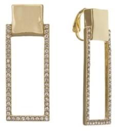 Christian Siriano New York Christian Siriano Gold Tone Linear Clip Earrings