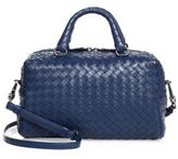 Bottega Veneta Woven Lambskin Top Handle Satchel