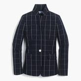 J.Crew Regent blazer in windowpane print