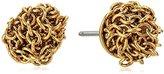 Diane von Furstenberg Thea Mesh Stud Earrings
