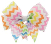 Charlotte Girls' Bow Shaped Clip - Rainbow One Size