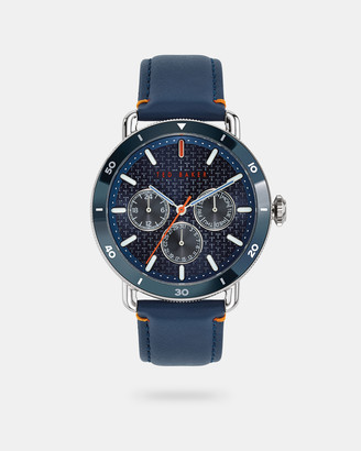 Ted Baker MAGARB Leather strap watch