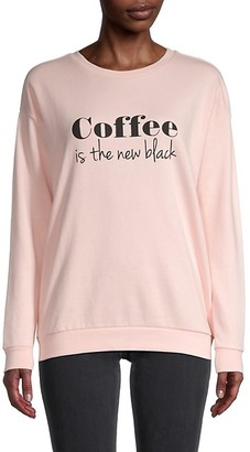 South Parade Coffee Graphic Print Sweatshirt
