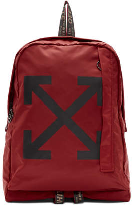 Off-White Off White Red Easy Backpack