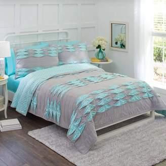 Better Homes & Gardens Peekaboo Dot & Pintuck Bedding