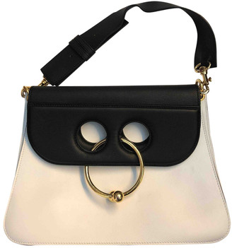 J.W.Anderson Pierce White Leather Handbags
