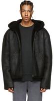 Yeezy Black Short Shearling Jacket