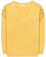 Chloé Merino wool and cashmere sweater