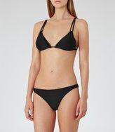 Reiss Annalise B - Mid-rise Bikini Briefs in Black, Womens
