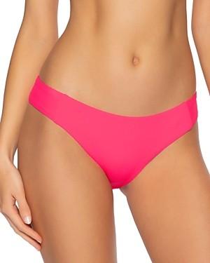 Becca by Rebecca Virtue Fine Line Ribbed Bikini Bottom
