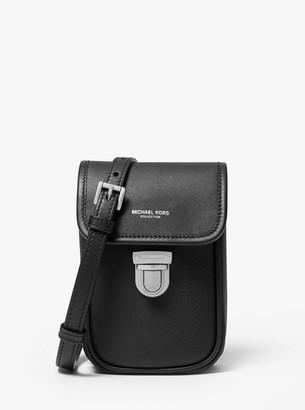 Michael Kors Kennedy Calf Leather Phone Crossbody Bag