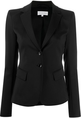Patrizia Pepe Fitted Single-Breasted Blazer