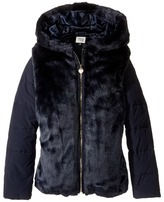 Armani Junior Faux Fur Jacket Girl's Coat