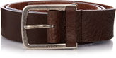 Gucci Brushed-leather belt