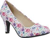 Women's T.U.K. Original Footwear Ditsy Day of the Dead Pump