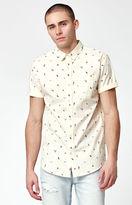 PacSun Dranks Short Sleeve Button Up Shirt