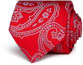 HUGO Exploded Paisley Silk Skinny Tie