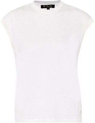 Loro Piana Silk and cotton top