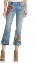 Aqua Rose Straight Crop Jeans - 100% Exclusive