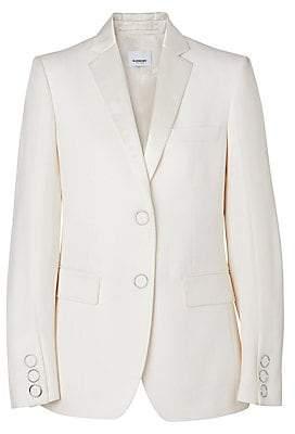 Burberry Women's Caratown Wool Tuxedo Jacket