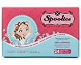 Spoolies Hair Curlers - 24 Count (Hello Glow)