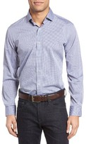 Maker & Company Men's Regular Fit Graph Check Sport Shirt