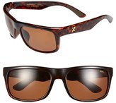 Zeal Optics Women's 'Essential' 58Mm Polarized Plant Based Sunglasses - Brown Olive Fade