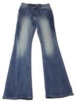 Tommy Hilfiger Women's Medium Blue Wash Flare-Leg Jeans (Medium Wash, 16)