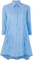 Neil Barrett striped tunic shirt