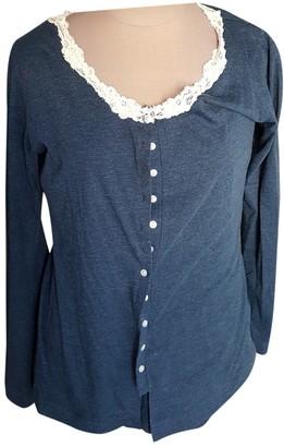 La Perla Blue Cotton Knitwear for Women