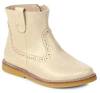 Elephantito Baby's, Little Girl's & Girl's Madison Leather Ankle Boots