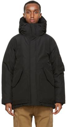 Nanamica Black Down Gore-Tex Coat