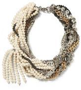Banana Republic Mixed-Up Pearl Necklace