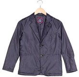 Brooks Brothers Boys' Wide Lapel Puffer Blazer
