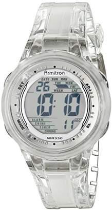 Armitron Sport Women's 45/7051CLR Digital Jelly Strap Watch