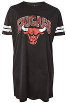 Topshop Chicago Bulls T-Shirt Dress by UNK