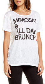 Chaser Mimosas All Day Graphic Tee