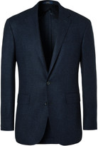 Polo Ralph Lauren - Blue Slim-fit Houndstooth Wool Blazer